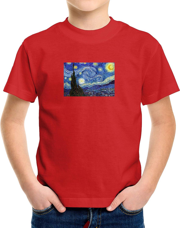 Starry Night Toddler /& Kids Boys Girls Tee T-Shirt Gift Shirts