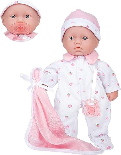 Muñecas de BeBé 11 inch Lavable Juguetes para Niños Muñeca de Cuerpo Suave