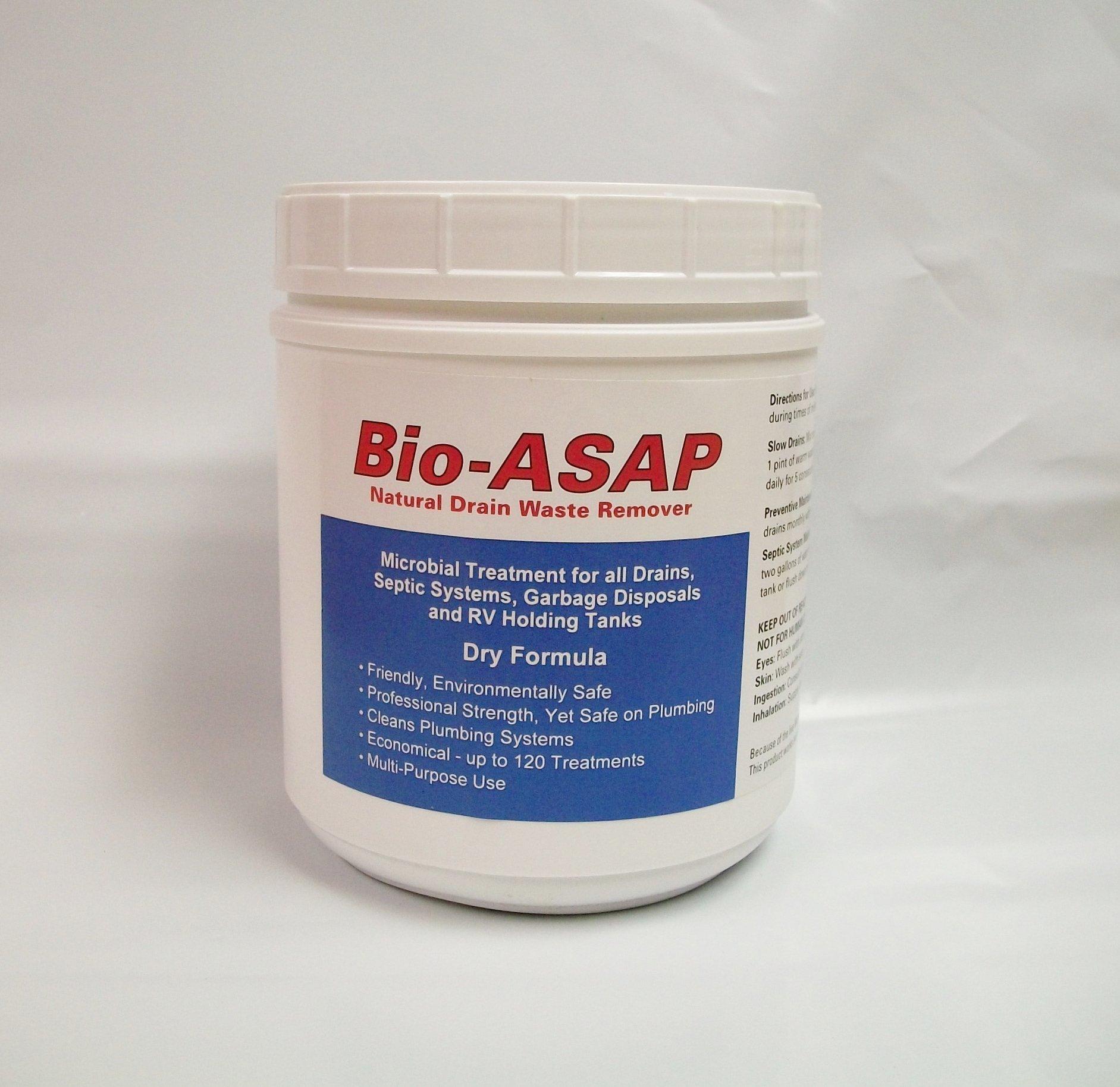 Bio-ASAP Drain Septic Bacteria 2lbs (Compare to Bio-Clean)