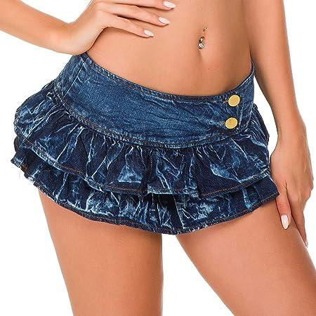 Yhui Pantalones Cortos Calientes Versión Coreana de Falda Sexy de ...