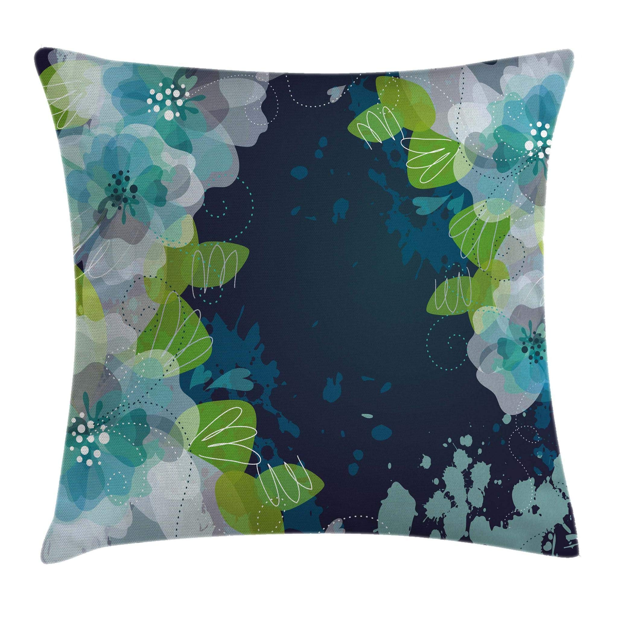 Navy And Green Throw Pillows Amazon