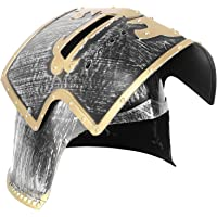 KESYOO Medieval Knight Soldier Warrior Helmet with Folding Face Covering for Boys Battle Play Halloween Cosplay for…