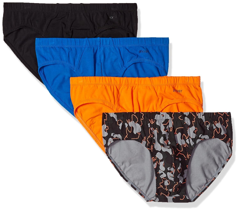2(X)IST Essential Cotton 4 Pack Bikini Brief 2(x)ist Men's Underwear -