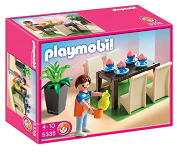 playmobil 5335 jeu de construction salle manger
