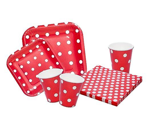 Platos,vasos y servilletas desechables Cumpleaños Niña o ...
