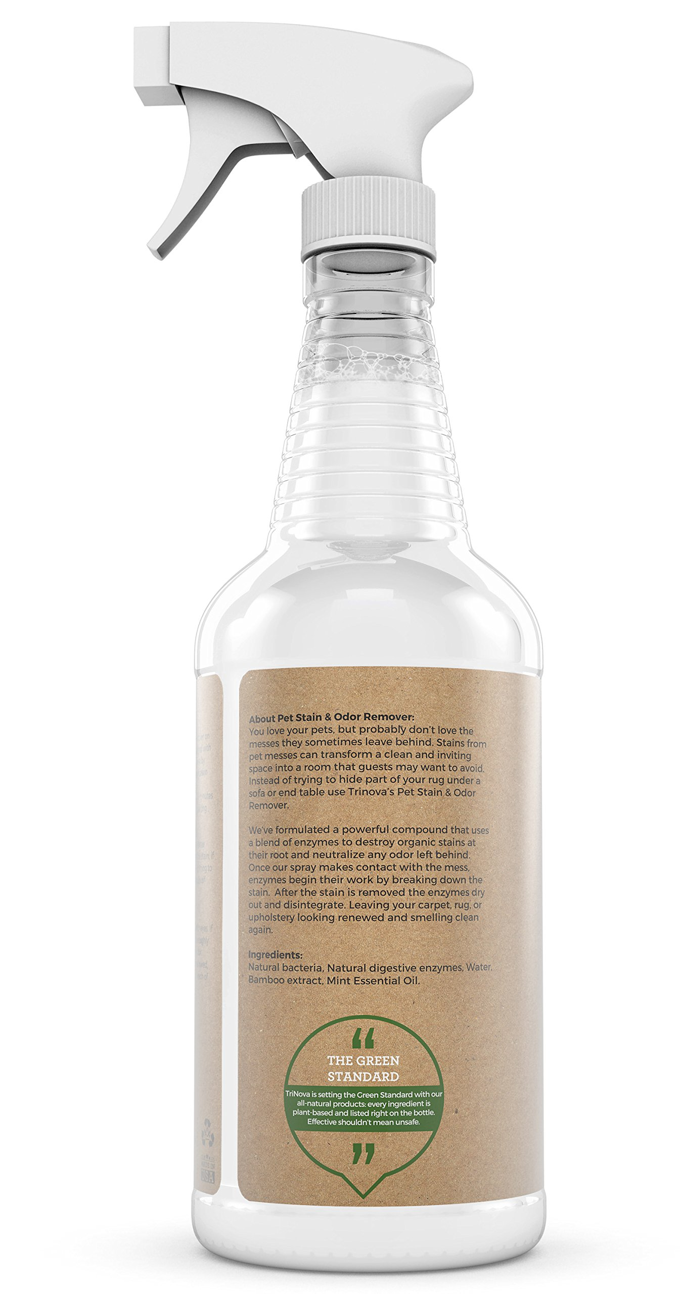 Natural Pet Stain And Odor Remover Eliminator Advanced