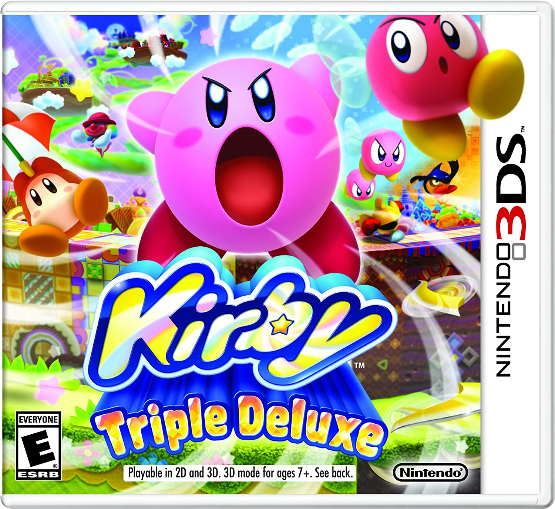 Amazon com: Kirby Triple Deluxe - Nintendo 3DS: Nintendo of
