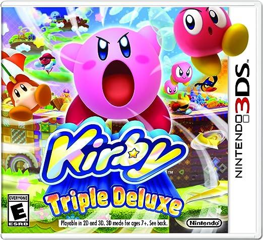 Nintendo Kirby Triple Deluxe - Juego (Nintendo 3DS, Plataforma ...