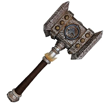 Amazon.com: RealFireNSteel Warcraft – Martillo de Thrall ...
