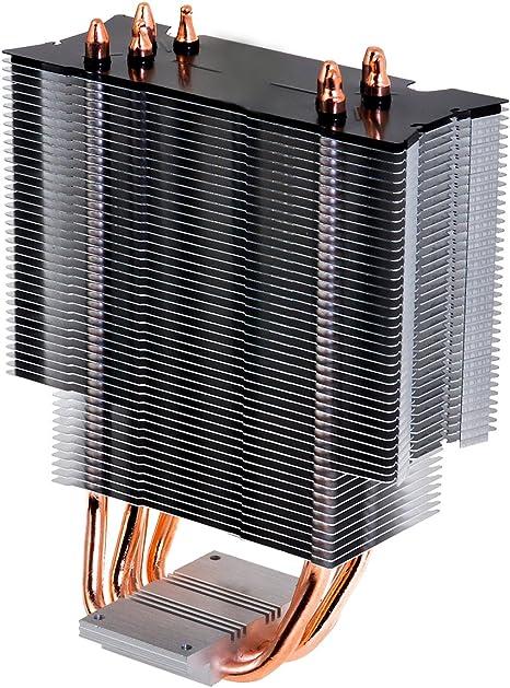 Ventilador disipador coolbox deep cyclone gaming. para intel y amd ...