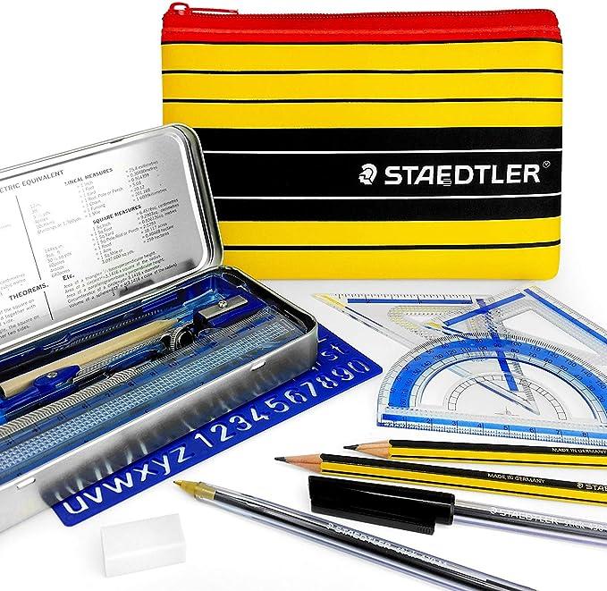 Kit escolar esencial para dibujo técnico con estuche