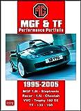 MGF and TF Performance Portfolio 1995 - 2005 (Brooklands Books Road Test Series)