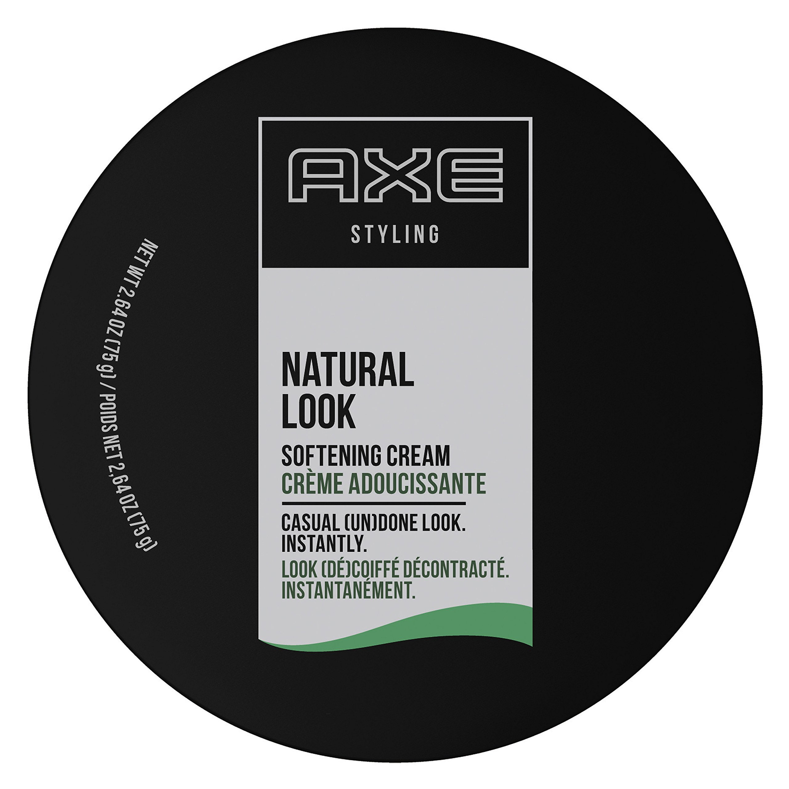 AXE Natural Look Hair Cream, Softening, 2.64 oz