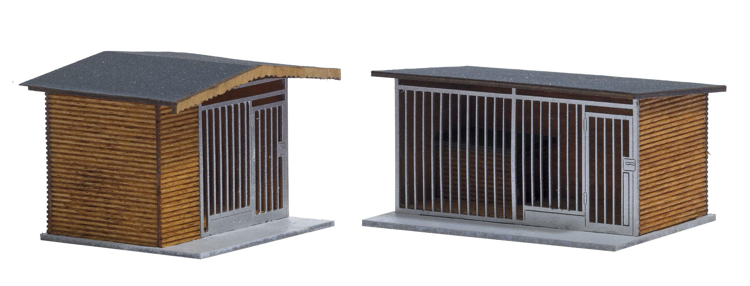 Busch 1492 Dog Pens 2/HO Structure Scale Model