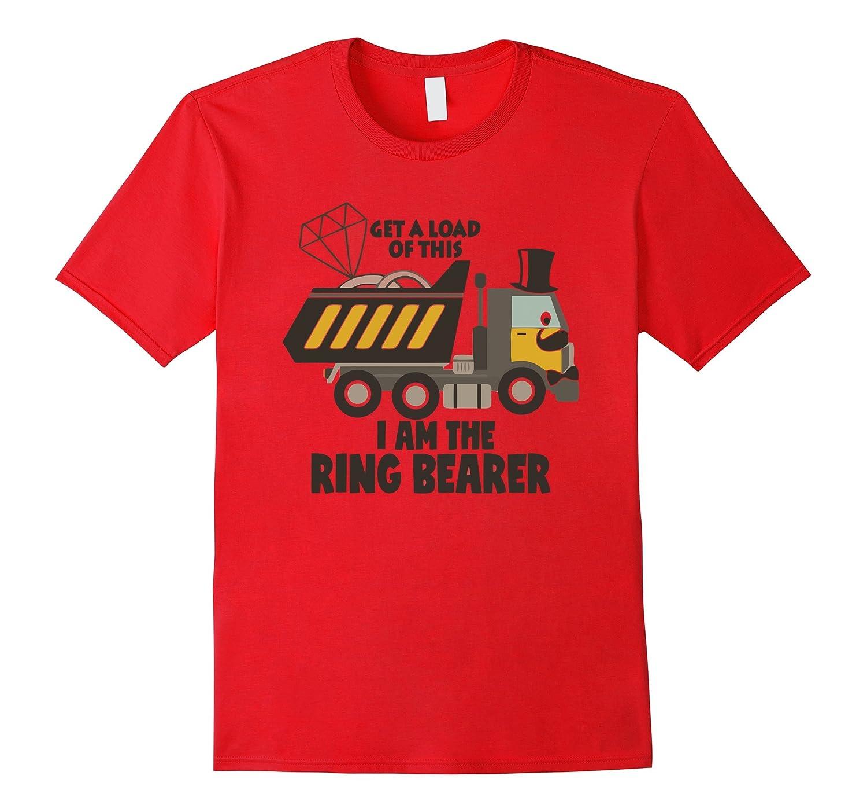 Ring Bearer Gift - Mr Dump Truck Ring Bearer-CD