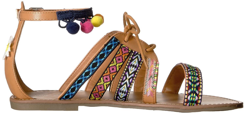 Indigo Rd. Women's Baria B(M) Flat Sandal B01M0DDIA9 9 B(M) Baria US|Pink/Multi d4e203