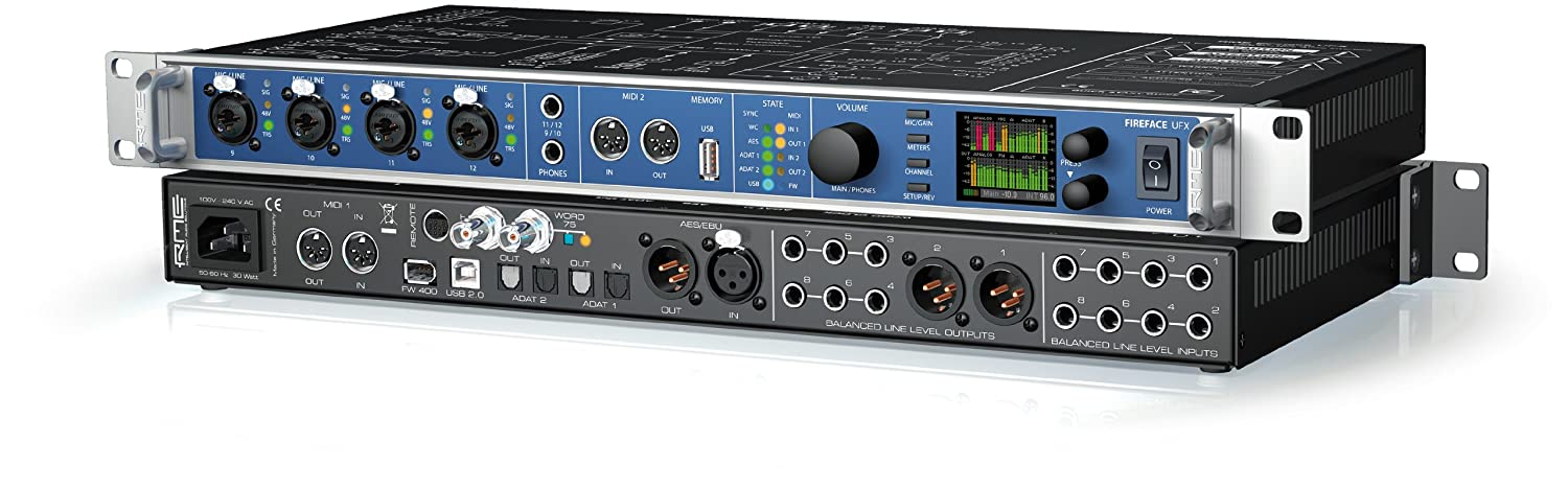 RME FIREFACE UFX AUDIO INTERFACE WINDOWS 8 X64 DRIVER