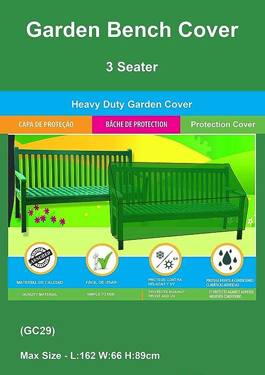 Funda resistente para balancín de jardín de 3 asientos: Amazon.es: Jardín