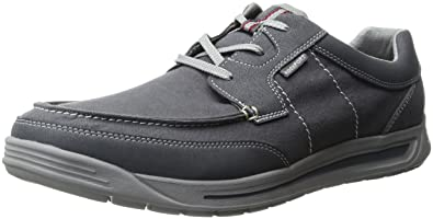 Rockport Men's Randle Moc Toe Oxford, Castle Rock Grey, ...