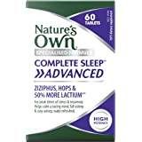 Nature's Own Complete Sleep Advanced - Calms Nerves - Promotes Sleep - Alleviates Stress - For Insomnia and Sleep, 60…
