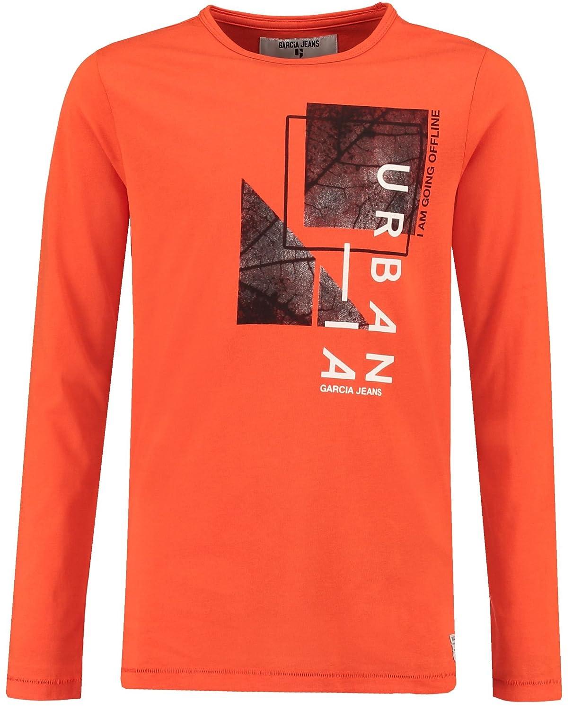Garcia Jeans Jungen Shirt Langarm orange (33) 152 V83600