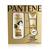 Pantene Nourishing Strength Shampoo, 360ml with Free Oil Replacement, 80ml (Worth Rupees 85)