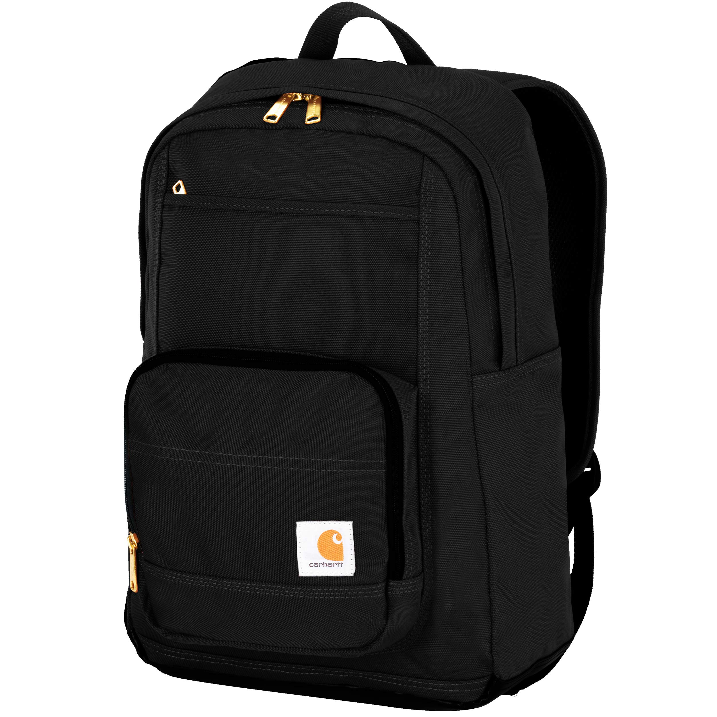 Carhartt Legacy Classic Work Backpack with Padded Laptop Sleeve, Black by Carhartt