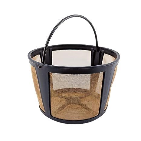 Amazon.com: Nrp café Permenent tono dorado filtro para Krups ...
