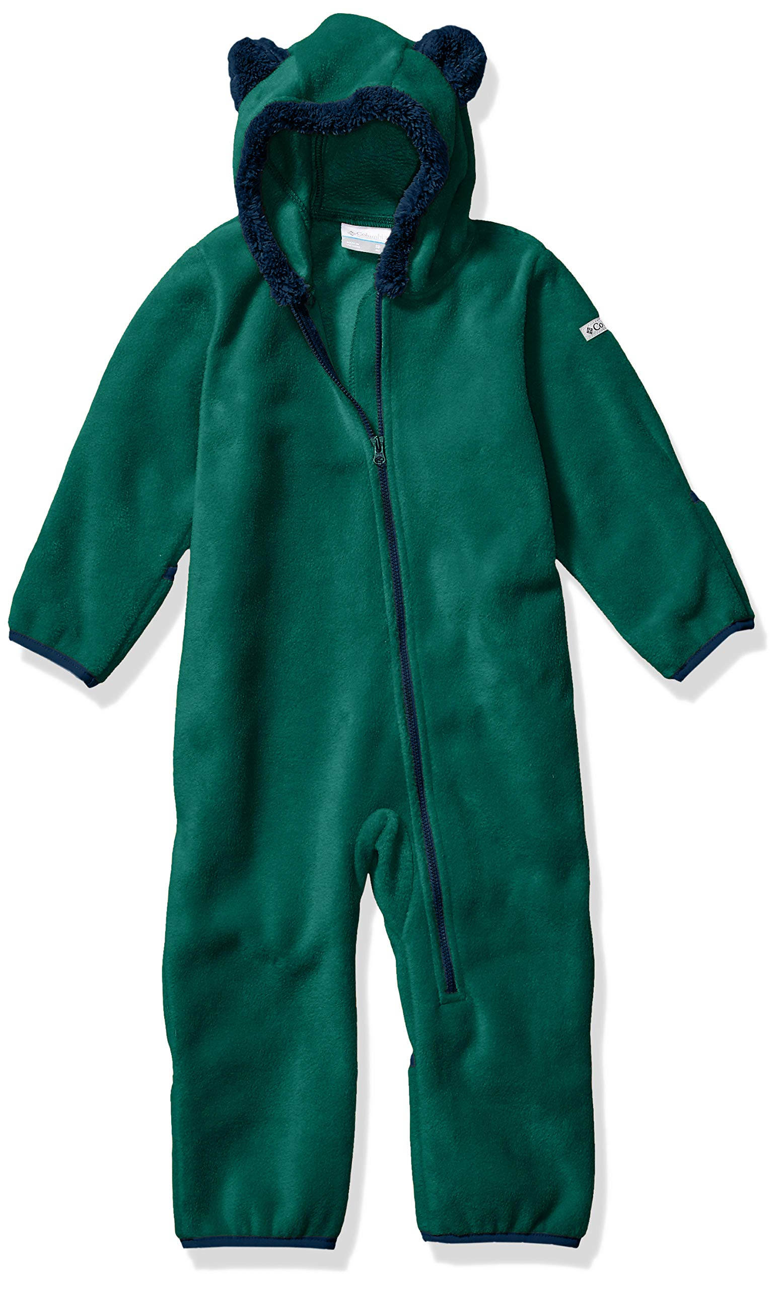 Columbia Baby Tiny Bear II Bunting, pine green/collegiate navy, 12/18 by Columbia