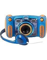 VTech Kidizoom Duo 5.0 - Cámara infantil de fotos digital, 5 megapíxeles, pantalla a color, 10 funciones diferentes, 2 objetivos