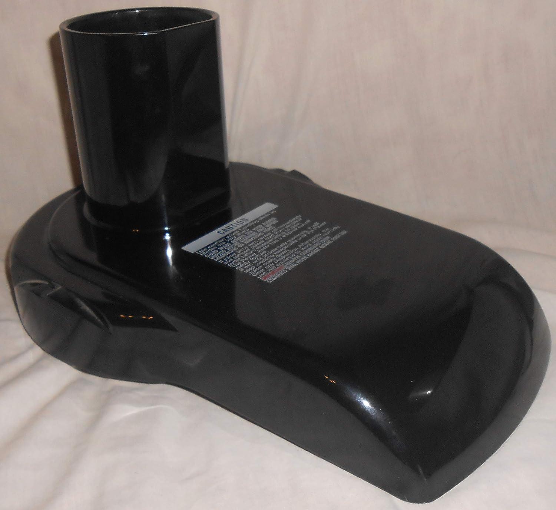 Jack Lalanne's Power Juicer MT-1000 Replacement Pulp Guard Cover Lid Black