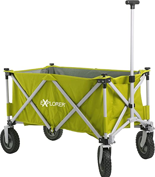 carros Explorer (99x52x65 cm) Buggy plegable carro plegable de jardín playa carro coche compra de carros de mano 100kg: Amazon.es: Jardín