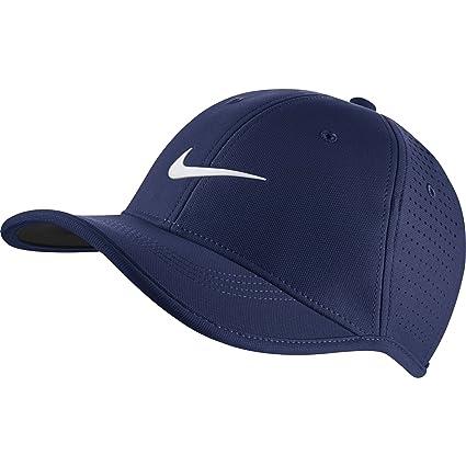 7749aab679c Amazon.com  Boy s Nike Ultralight Tour Perforated Cap 727034  Clothing
