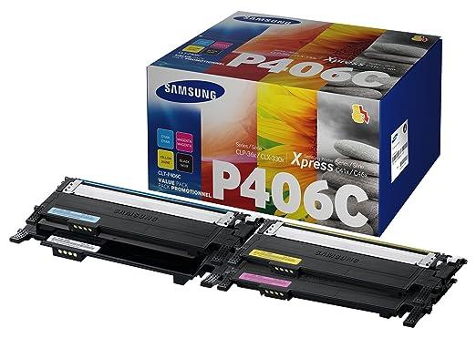 301 opinioni per Samsung CLT-P406C/ELS Confezione 4 Toner, Nero/Ciano/Magenta/Giallo