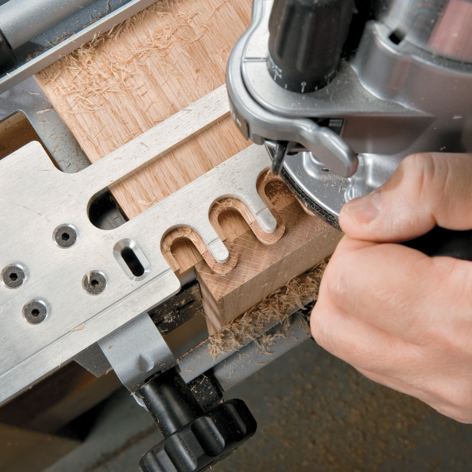 PORTER-CABLE 4210 12-Inch Dovetail Jig - Router Templates - Amazon.com