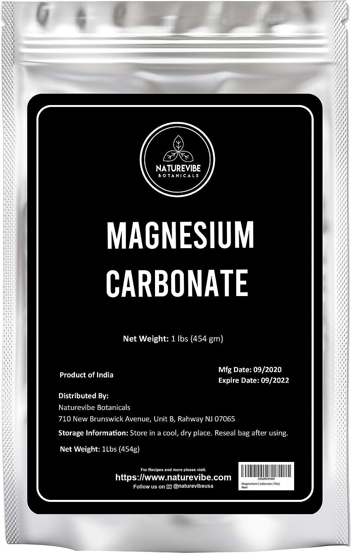 Naturevibe Botanicals Magnesium Carbonate (1lbs)