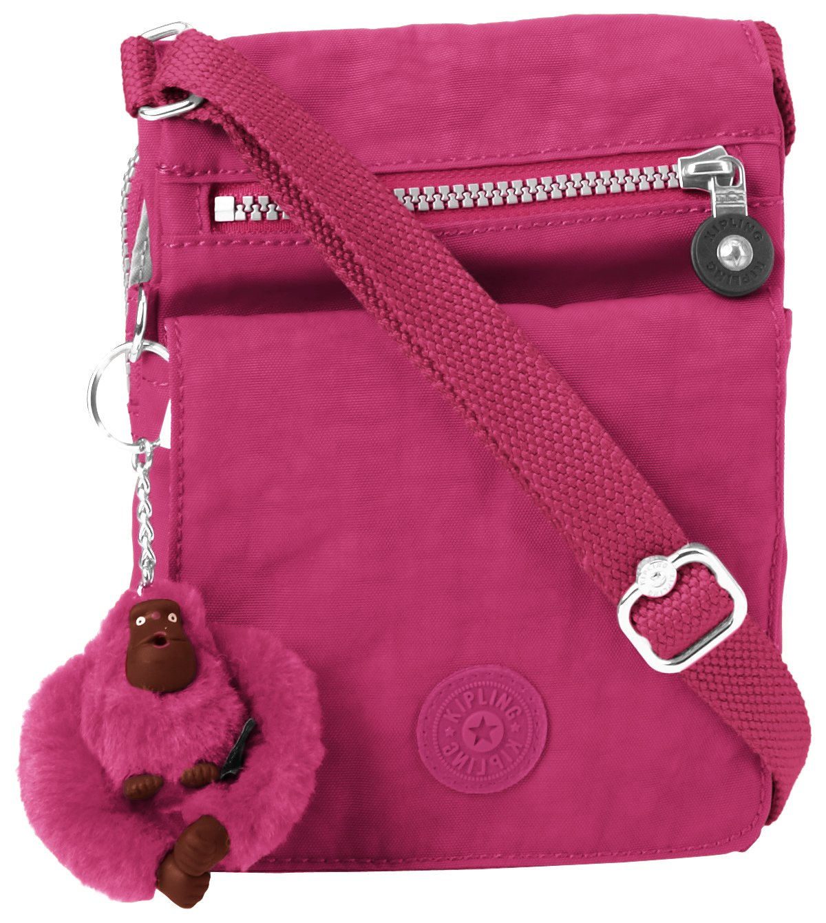 Kipling El Dorado Crossbody, Very Berry