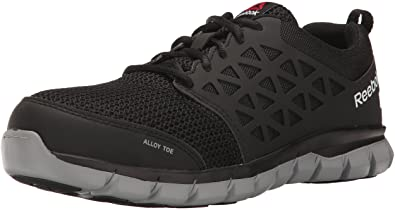 Amazon.com | Reebok Work Men's Athletic Oxford Industrial ...