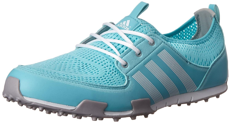 adidas Women's W CC Ballerina II Golf Shoe B00NVT1ZQK 8.5 B(M) US|Clear Aqua/Running White/Matte Silver