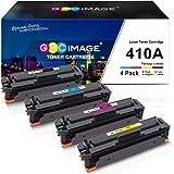 GPC Image Compatible Toner Cartridge replacement for HP 410A CF410A CF411A CF412A CF413A to use with Color LaserJet Pro…
