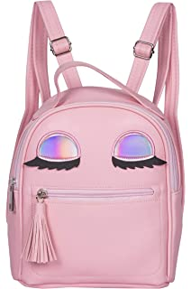 0fd65172cec76 asiproper Shining Sequins Women Cute Small Backpacks PU Leather ...