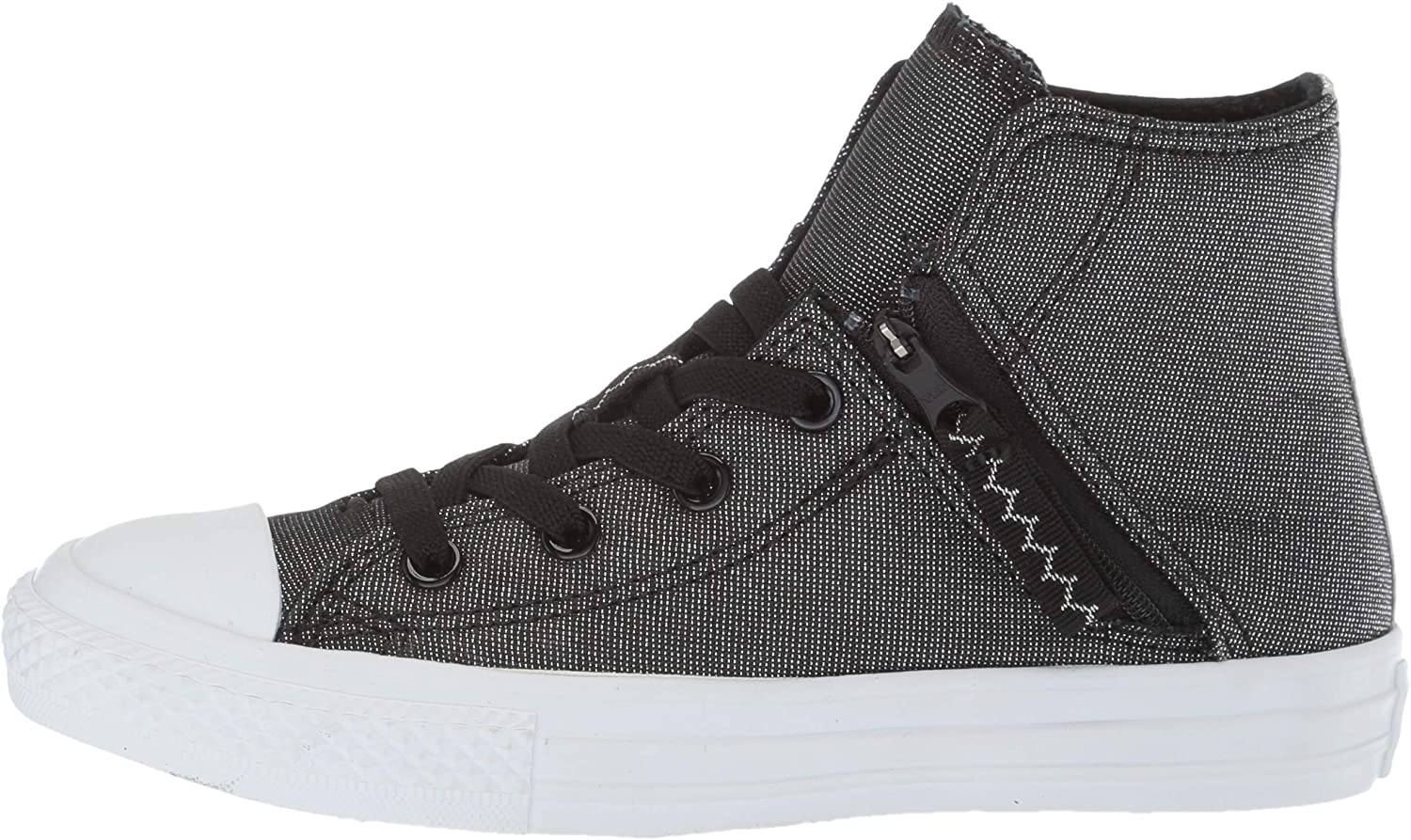 Converse Kids Chuck Taylor All Star Pull-Zip High Top Sneaker