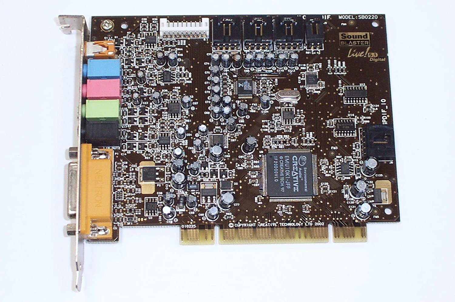 Amazon.com: Misc sb0220 Sound Blaster tarjeta PCI – ct4730 ...