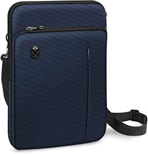 FINPAC 12.9-13 Inch Tablet Laptop Sleeve Case, Briefcase Shoulder Bag for 12.9