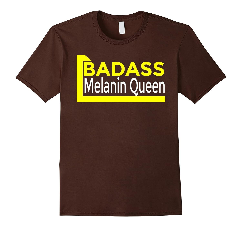 Badass Melanin Queen T-Shirt-RT