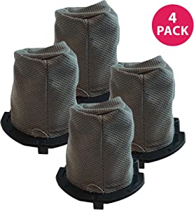 Crucial Vacuum 2 Replacements for Hoover Flair Filter Fits S2200, S2220 & S2201 Series, Compatible with Part # 59136055, Washable & Reusable (4 Pack)
