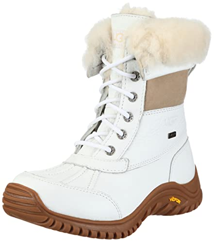 639dd7bf4ce Ugg Adirondack Ii Womens Boots In White Sz:8.5 / UK 6.5: Amazon.co ...