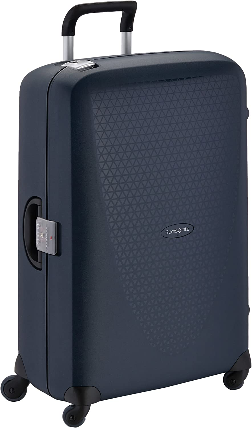 Samsonite Termo Young Spinner L Maleta, 78 cm, 88 L, Azul (Dark Blue)