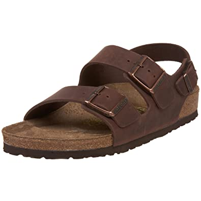 8214e0441715fe Birkenstock Milano Sandal Brown  Amazon.ca  Shoes   Handbags