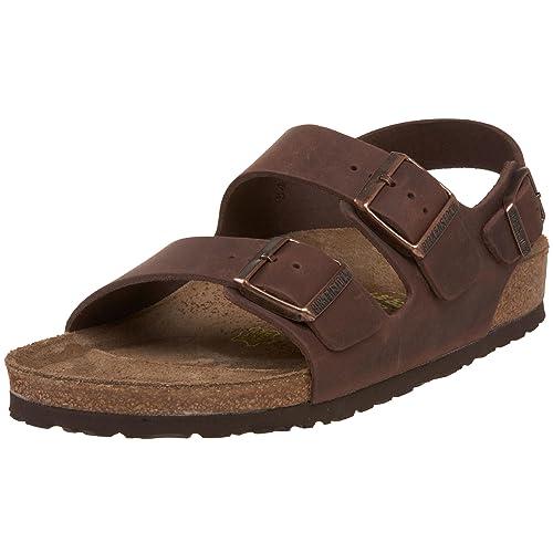 bd531b02906ea Birkenstock Milano Unisex Leather Sandal
